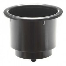 """RECESSED CUP HOLDER 3-1/4""""""""""""""""X4"""""""""""""""" BLACK"""