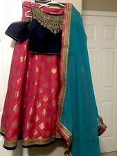 Lehenga Choli Indian Wedding Wear Lehenga Party Pakistani Designer Ethnic Bridal