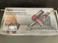 Dyson V6 Top Dog - Red/Silver - Handheld Cleaner