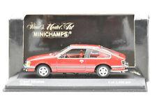 OPEL MONZA 1980 RED MINICHAMPS 1/43 NEUF EN BOITE