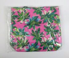 Vera Bradley Tote Tropical Paradise 15821-J26 Shoulder Bag Quilted Pink Green