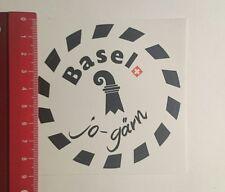 Aufkleber/Sticker: Basel Jo Gärn (0912161)