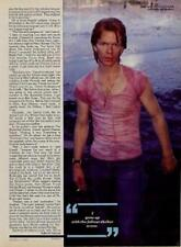Jim Carroll Interview/article Creem magazine 1981