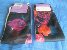 Machine Washable Floral Ankle-High Socks for Women