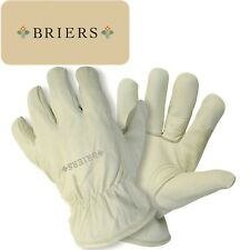 Briers Ultimate Lined Leather Gardening Gloves Thermal Thorn Resistant S M L