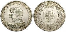 PORTUGAL. 500 REIS. 1898. CARLOS I Y AMELIA.
