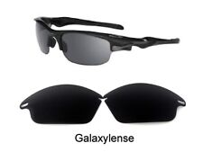 Galaxy Replacement Lenses For Oakley Fast Jacket Sunglasses Black Polarized