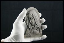 † OUR LADY of SORROWS / MATER DOLOROSA BRONZE PAPERWEIGHT by M.POLLET FRANCE †