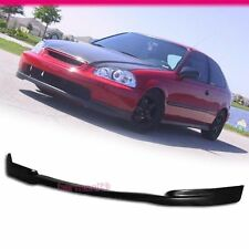 For 96-98 Honda Civic PU Lower Front Bumper Lip Bodykit JDM CTR Brand New