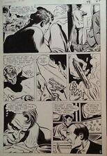 1966 MIKE SEKOWSKY DYNAMO #2 PG 48 ORIGINAL COMIC ART! THUNDER AGENTS! Comic Art