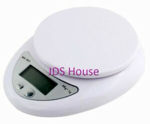 5kg Digital LCD Kitchen Food Weight Weighing Scale Balance WH-B05