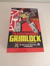 Dinobot Grimlock Ex Gohkin Figure Takara 30 years Tomy EX-TF02