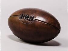 Lámina-Cuero Vintage Pelota De Rugby (Foto Poster Sport Arte Fútbol)