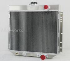 4 Row Aluminium Radiator For Ford Mustang Cougar 1967-1970 / Fairlane 1963-1969