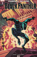 MARVEL ACTION BLACK PANTHER #1 1:25 VARIANT NM- (PRIORITY & FREE INSURANCE)