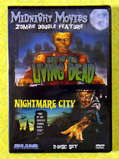 Midnight Movies Zombie Double Feature Hell of the Living Dead/Nightmare City DVD