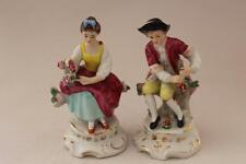 Carl Schendig Grafenthal Pair of Figurines Victorian Lady & Gentleman