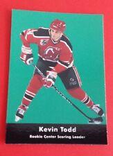 1991/92 Parkhurst Hockey Kevin Todd Card #444***New Jersey Devils***