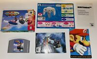 Wave Race 64 Nintendo 64 - Authentic, Complete in Box - US Seller