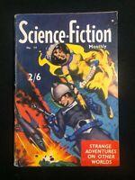 Vintage Science Fiction Monthly No 17 1950's Australian Pulp Magazine