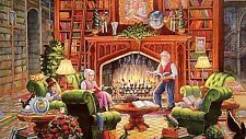 """Sanctuary of Knowledge""  Ravensburger 1000 Piece Jigsaw Puzzle 27"" x 20"""