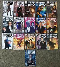 2014 Titan DOCTOR WHO New Adventures with TWELFTH Doctor Comics #1-16~FULL SET