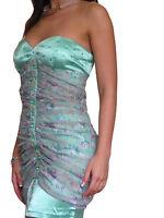 Ladies Dress Chiffon Cocktail Evening Party Mini Prom Size 8 10 12 14 16