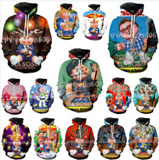 Newest Women/Men 3D Print Hot Garbage Pail Kids Casual Hoodies Sweatshirts Tops