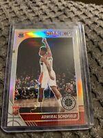 2019-20 Panini NBA Hoops Premium Admiral Schofield Silver - No. 231 - Wizards!