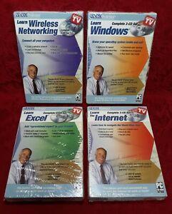 Video Professor BUNDLE DEAL LEARN EXCEL WINDOWS INTERNET NETWORKING PC-CD-ROM
