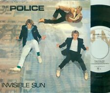 "THE POLICE - INVISIBLE SUN ( DUTCH  A&M AMS 9203) 7""PS 1981"