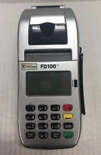 First Data Fd100ti Fd-35 Credit Card Terminal Reader Pos Set Pin Pad
