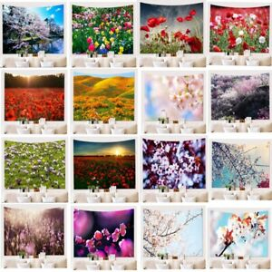 Flower Style Scenery Tapestry Wall Hanging Home Wall Tapestry Bedroom Wall Decor