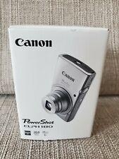 Canon PowerShot ELPH 180 Digital Camera Silver 20MP HD Video 8x Optical Zoom