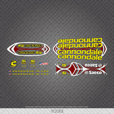 01033 Cannondale Bicycle Stickers - Decals - Transfers