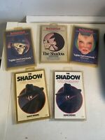 Vintage Golden Age Radio Blockbusters 5 Cassette Tape Lot Shadow Reruns Sealed