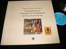 BACH°CONCERTOS FOR HARPSICHORD<>G LEONHARDT<>Lp VINYL~Germany Pressing~SAWT 9538