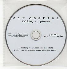 (DQ575) Falling To Pieces, Air Castles - 2011 DJ CD