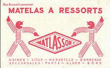 Buvard Vintage  Matelas à Ressorts Matlassor