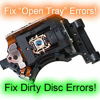XBOX 360 OPEN TRAY REPAIR SERVICE ONLY!!