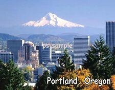 Oregon - PORTLAND - Travel Souvenir Flexible Fridge Magnet