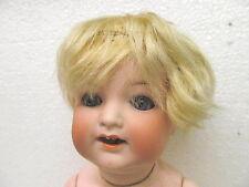 MES-38287Alte Original Heubach 342 Porzellankopf Puppe L:ca.36cm,