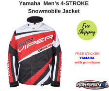 YAMAHA VIPER BY FXR SNOWMOBILE JACKET RED XL SMB-16JVP-RD-XL SIZE X-LARGE