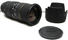 SIGMA 50-500 mm 1:4-6.3 APO DG  (EX SIGMA) BLACK LENS For Canon
