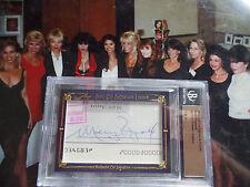 MOLLY RINGWALD /28 signed auto Leaf Cut Signature Edition Encore autograph SSP
