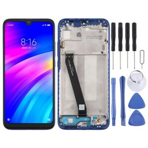 LCD Screen and Digitizer Full Assembly with Frame for Xiaomi Redmi 7