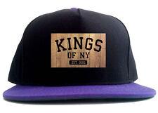 Kings Of NY Hardwood Logo Est 2006 2 Tone Snapback Hat
