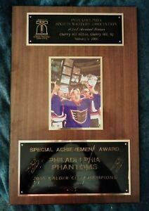2005 PHILADELPHIA PHANTOMS (Lehigh Valley FLYERS farm team) SPORTS WRITERS AWARD