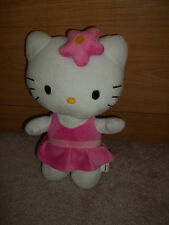 Hello Kitty Plush with flower- 13""
