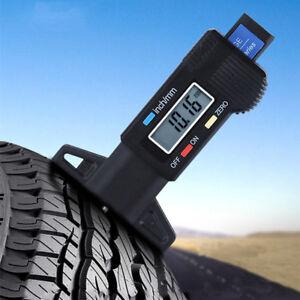 Car Digital Tyre Whee Tire 0-25.4mm Tread Depth Tester Gauge Meter Measurer Tool